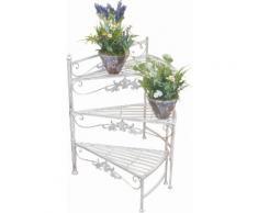 Home affaire Blumenständer weiß, »Treppe«, pflegeleichte Oberfläche