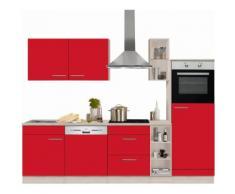 OPTIFIT Küchenzeile »Kalmar« rot, mit Aufbauservice