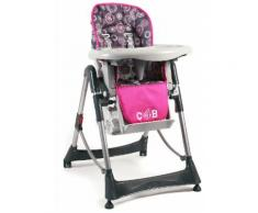 Hochstuhl mit verstellbarer Sitzposition »Enjoy« rosa, schmutzabweisend, CHIC4BABY