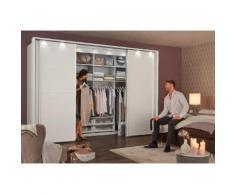 begehbarer Kleiderschrank »Multiplus« weiß, Breite 300 cm, Basisausführung, WIEMANN