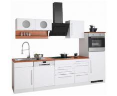 Küchenzeile »Keitum« weiß, ohne Aufbauservice, Held Möbel