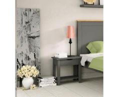Home affaire Nachttisch »Denver« grau, pflegeleichte Oberfläche, FSC®-zertifiziert