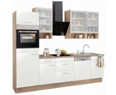 OPTIFIT Küchenzeile »Aue« weiß, mit Aufbauservice, mit Schubkästen