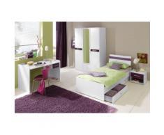 Jugendzimmer-Set lila, Hochglanz, WIMEX