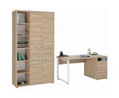 MAJA Möbel Büromöbel-Set 1390 SET+ beige, strapazierfähig, pflegeleichte Oberfläche