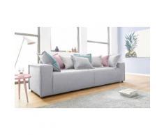 INOSIGN Big-Sofa inklusive Wendekissen »Gina« grau, FSC®-zertifiziert