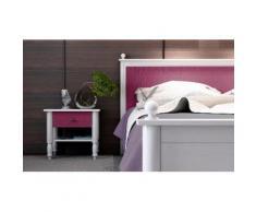 Home affaire Nachttisch »Stella« lila, pflegeleichte Oberfläche, FSC®-zertifiziert