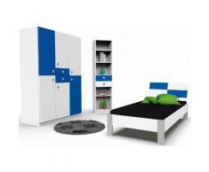 """Jugendzimmer-Set """"Split"""" blau, mit Schubkästen, WIMEX"""