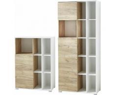 Büromöbel-Set GW-Lioni weiß, Push to open-Funktion, GERMANIA