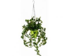 Kunstpflanze »Efeu in Hängeampel« grün, ohne Kette 60, yourhome