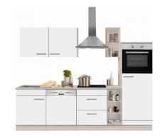 OPTIFIT Küchenzeile weiß, ohne Aufbauservice, »Kalmar«
