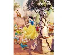 Komar Fototapete 184/254 cm »Disney Dancing Snow White« bunt, B/H