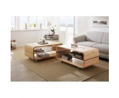 Premium collection by Home affaire Couchtisch auf Rollen braun, »Emil«, FSC®-zertifiziert