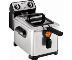 TEFAL Fritteuse Filtra Pro Inox and Design FR5101 silber