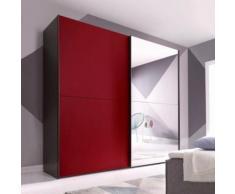 INOSIGN Schwebetürenschrank modernen Farbvarianten rot, Breite 250 cm