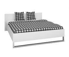 Bett Style (160x200, weiß)