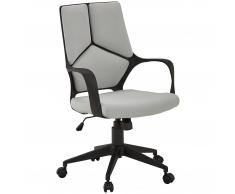 Bürostuhl Glostrup (hellgrau, niedriger Rücken)