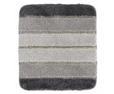 Badematte Stripe (45x50, grau)