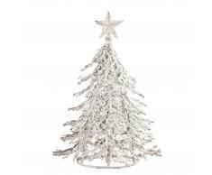 Weihnachtsbaum (27 cm, Eisen, weiß)