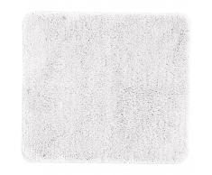Microfaser-Badematte Uni de Luxe (50x80, weiß)