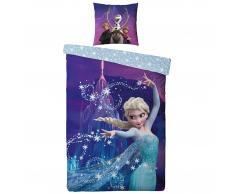 Kinderbettwäsche Frozen (Die Eiskönigin, 135x200, lila)