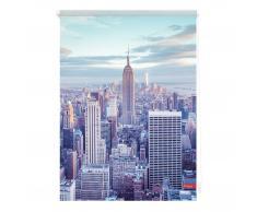 Klemmfix Rollo New York (100x150, blau)