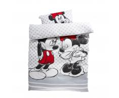 Kinderbettwäsche Minnie & Mickey (135x200)