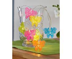 LED-Lichterkette mit Schmetterlingen