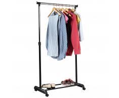 Fahrbarer Kleiderständer
