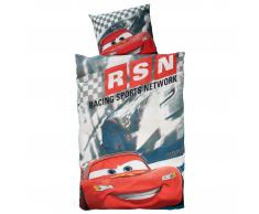 Kinderbettwäsche Cars Racing (100x135)