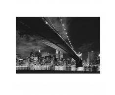 Wandbild Manhattan (68x100, Glasoptik, selbstklebend)