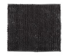 Luxus-Chenille Badematte (45x50, anthrazit)