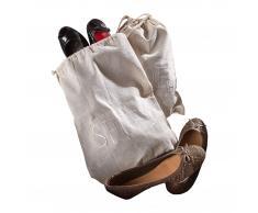 Schuhbeutel Shoes (2er-Set, 30x40)