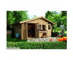 Lagor 1 Gartenhaus, naturbelassen, Woodfeeling