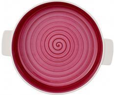 Villeroy & Boch Clever Cooking Pink Runde Backform, 24 cm, Premium Porzellan, Pink