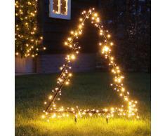 LED Outdoor Tannenbaum zum Stecken