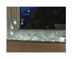 LED Draht-Lichterkette Indoor mit 20 Sternen
