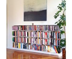 Krossing Regal für Bücher - 24 Fächer quer weiß