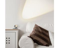 Puk Maxx Spot LED Tischleuchte Glas weiß