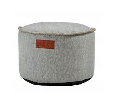 RETROit Cobana Drum Pouf Outdoor sand melange