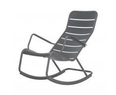 Luxembourg Rocking Chair Schaukelstuhl gewittergrau