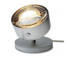 Puk Spot LED Tischleuchte Glas chrom matt