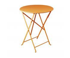 Bistro Tisch rund karotte