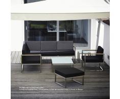 Lux Lounge Sofa 2-Sitzer Armlehne links