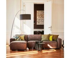 Clifden 3-Sitzer Sofa Anbauecke links Sitzauszug motorisch