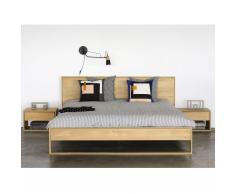 Oak Nordic II Bett 160