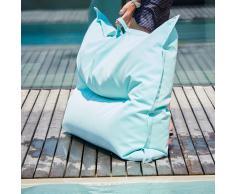 Float Schwimmkissen und Sitzsack meerblau