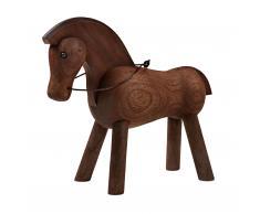 Pferd Holzfigur