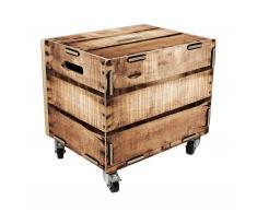 Rollbox Weinkiste Rollcontainer