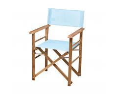 Holz-Regiesessel Bezug Textilene 2-tlg.